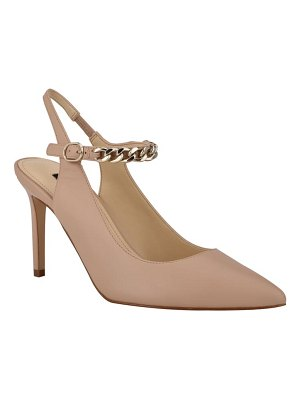 Nine West evea quarter strap pointed toe pump