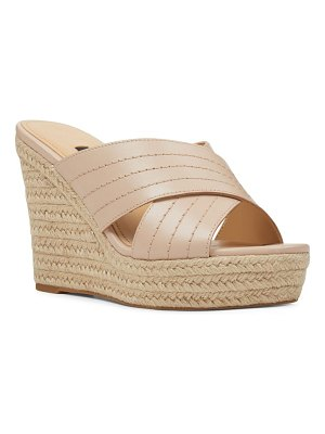Nine West hope espadrille wedge slide sandal