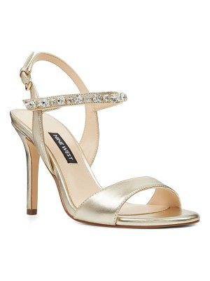 Nine West madison crystal embellished sandal