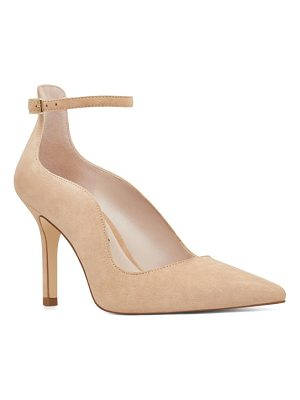 NINE WEST Marquisha Scalloped Ankle Strap Pump