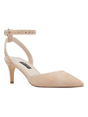 Nine West susaham studded halo strap pump