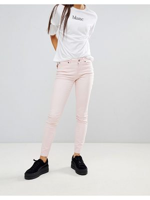 Noisy May skinny jeans-pink