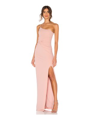 Nookie lust one shoulder gown