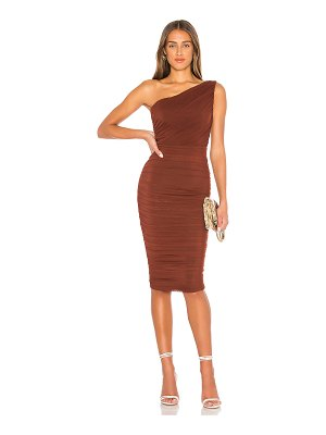 Nookie x revolve inspire one shoulder midi dress