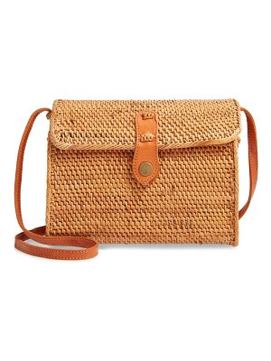 Nordstrom anderson structured rattan flap crossbody bag
