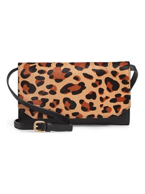 Nordstrom bailey genuine calf hair clutch