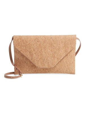Nordstrom envelope cork shoulder bag