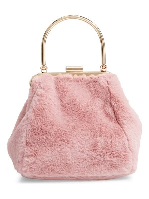 Nordstrom faux fur clutch
