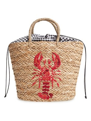 Nordstrom lobster woven tote