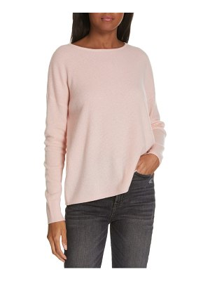 Nordstrom Signature cashmere ribbed pullover