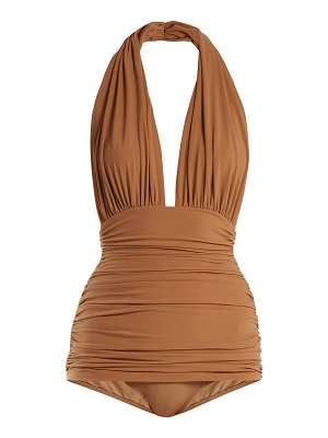Norma Kamali Bill halterneck swimsuit