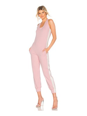 Norma Kamali Side Stripe Jumpsuit