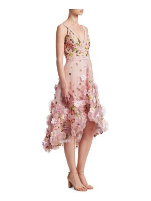 Notte by Marchesa sequin and lace gown