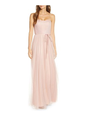 Notte by Marchesa strapless tulle a-line gown