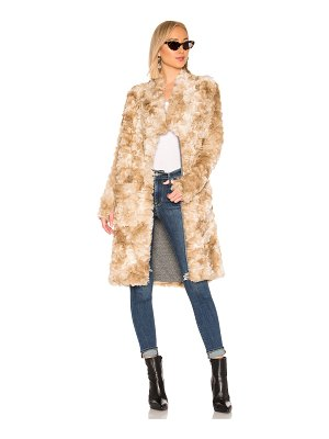 NSF Toni Faux Fur Long Coat