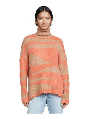 NUDE turtleneck sweater