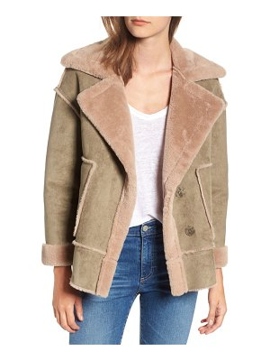 NVLT faux shearling jacket
