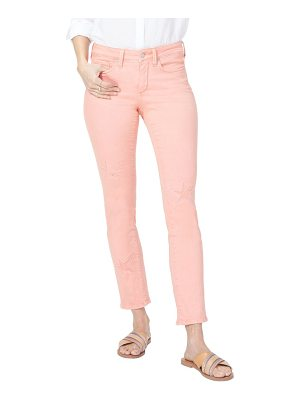 NYDJ lasercut starfish stretch slim ankle pants