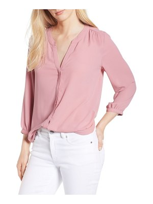 NYDJ pleat back blouse