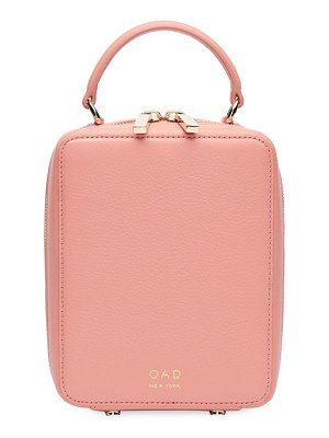 OAD mini leather box crossbody bag