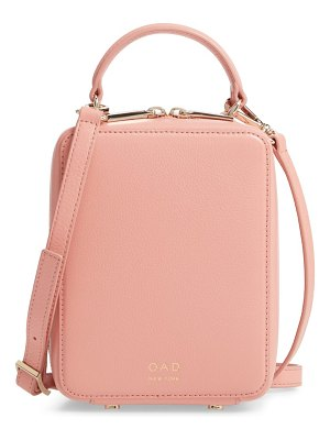 OAD NEW YORK mini box leather crossbody bag