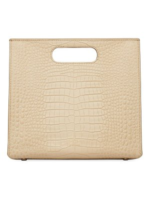 OAD quinn croc-embossed leather tote bag