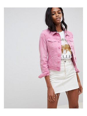 Oasis cropped denim jacket