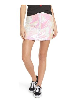Obey kool thing sequin skirt