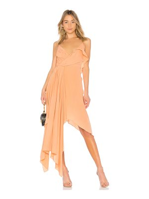 OFF-WHITE Draped Princess Dress