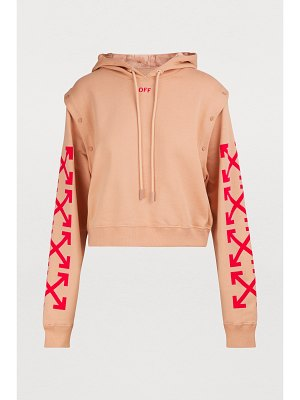 Off white Logo sweatshirt