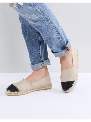 Office lucky leather espadrilles
