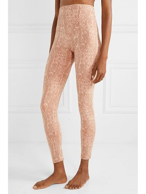 OLYMPIA Activewear achilles snake-print stretch leggings