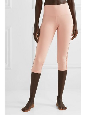 OLYMPIA Activewear titus cropped striped stretch leggings
