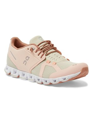 On Cloud Cushioned Knit Trainer Sneakers