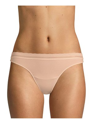 On Gossamer next to nothing micro thong panty