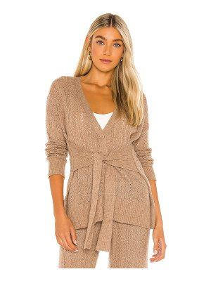 One Grey Day calvin cashmere cardigan