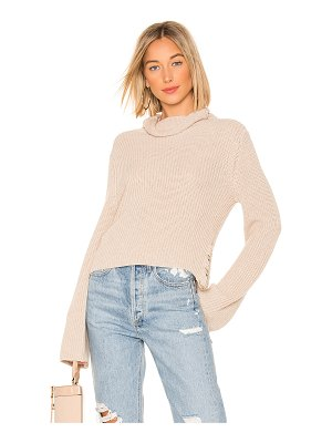One Grey Day Jessa Crop Pullover