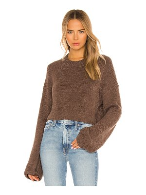 One Grey Day x revolve wesley cropped pullover