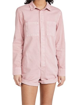One Teaspoon dirty pink prophecy jumpsuit