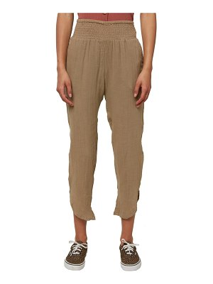O'Neill briggs cotton double cloth crop pants