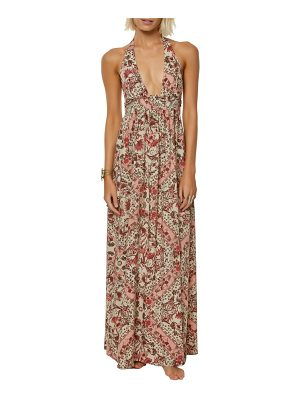 O'NEILL Dolley Halter Neck Maxi Dress