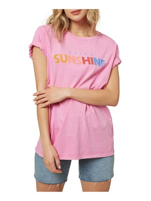 O'Neill hello sunshine oversize graphic tee