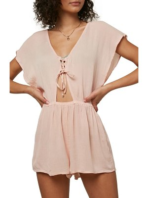 O'Neill saltwater cover-up romper