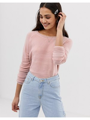 Only caviary strikethrough knit sweater