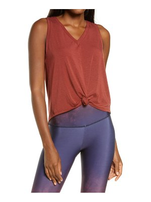 ONZIE knot front tank top