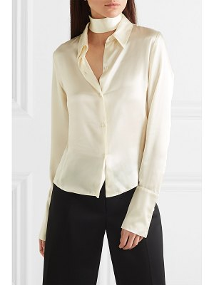 Orseund Iris silk-satin shirt