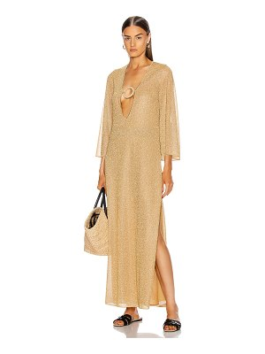 Oseree kaftan ring dress