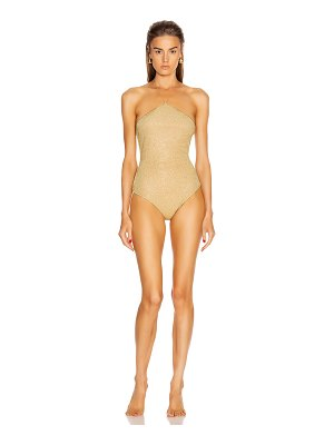 Oseree neckless maillot swimsuit