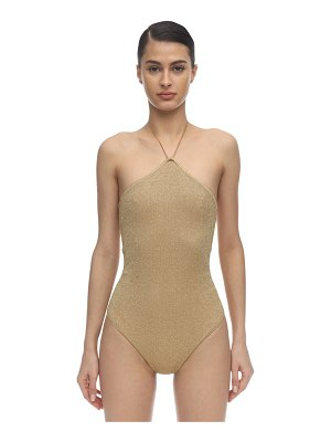 OSÉREE SWIMWEAR Lurex & lycra one piece swimsuit
