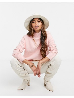 Other Stories &  cropped sweater in pink